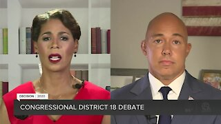 Rep. Brian Mast, Pam Keith square off in District 18 debate