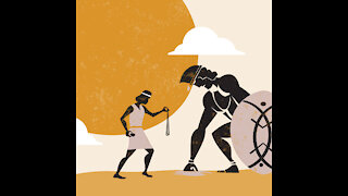The Story of David and Goliath. Bible animated story