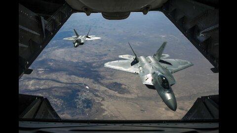 12 F22 Pilots Walk Off the Job