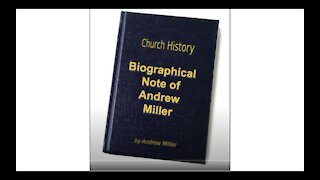 Biographical Note of Andrew Miller Audio Book