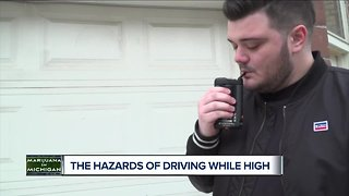 Driving while high: Wayne State professor works to find legal limit for marijuana