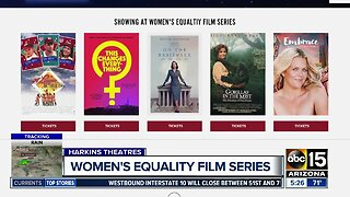 Women's Equality Film Series taking place in the Valley