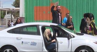 Vegas teacher awarded new car amid school district's appreciation week