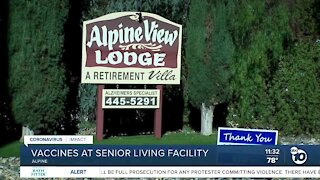 County helps Alpine senior living facility with vaccines