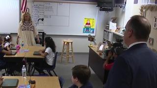 CCSD superintendent tours new magnet school