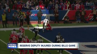 Police: Baltimore Ravens player injured a reserve deputy during game, requiring surgery