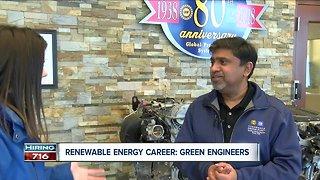 Careers in Renewable Energy: Green engineers