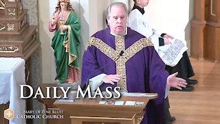 Fr. Richard Heilman's Sermon for Monday, March 8, 2021