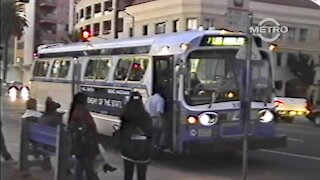 TMN   TRANSIT - MTA 1998 Bus Watching in Santa Monica
