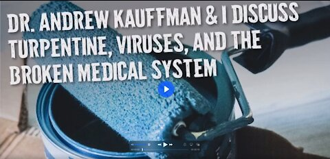 Dr Andrew Kauffman with Owen Benjamin