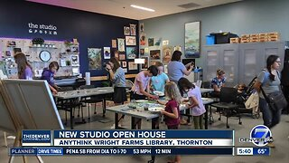 Anythink Library hosts open house at studio