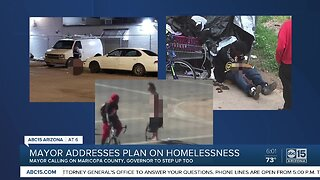 Mayor address Phoenix homelessness problem, councilman calls for more transparency