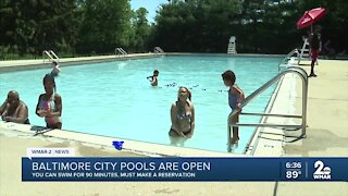 Baltimore city pools are open