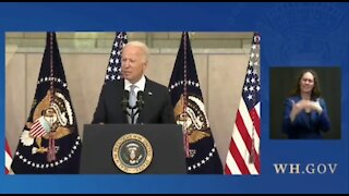Biden Claims GOP Voting Laws Greatest Threat to American Democracy Since Civil War