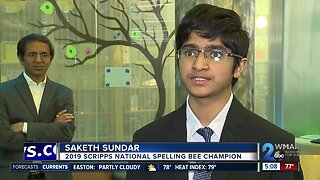 Community honors local Spelling Bee Champion