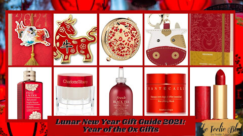 The Teelie Blog | Lunar New Year Gift Guide 2021: Year of the Ox Gifts