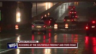 Flooding across metro Detroit closes several roads, highways
