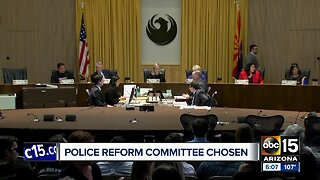 Phoenix mayor names committee aimed at improving relationship between police and community