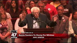 Sen. Bernie Sanders endorses Gretchen Whitmer for Michigan governor