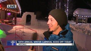 Winter carnival meet the artist
