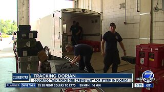 Colorado Task Force One crews wait for Hurricane Dorian in Florida