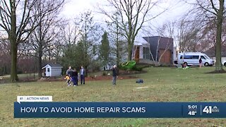 How to avoid home-repair scams
