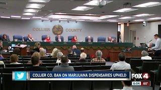 Medical marijuana dispensaries rejected in Collier again