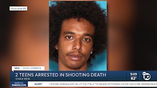 Two teens arrested in Chula Vista shooting death