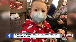 China evacuee will celebrate first birthday in quarantine