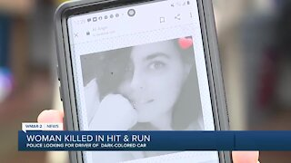Woman killed in hit & run