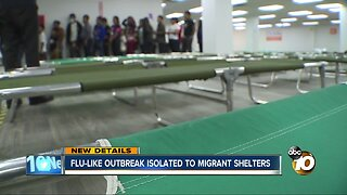 Flu-like outbreak isolated to migrant San Diego shelter