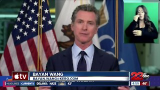 Governor Gavin Newsom lifts stay-at-home order
