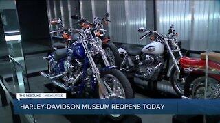 Harley Davidson Museum reopens