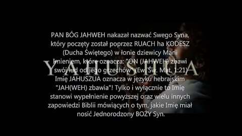 JAHUSZUA ha MASZIJACH: Znaczenie Prawdziwego Hebrajskiego Imienia Syna Bożego (Jezusa)