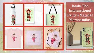 Teelie Turner Author | Iaada The International Fairy's Magical Merchandise | Teelie Turner