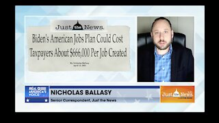American Jobs Plan could cost $666k per job created