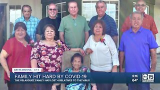 Avondale family loses four family members to COVID-19 pandemic