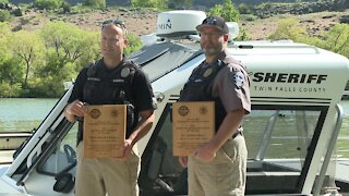 Two Officers receive awards