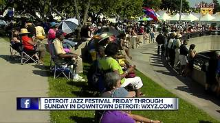 Detroit Jazz Festival on Labor Day weekend in downtown Detroit