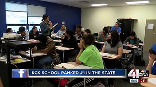 KCK school ranked first in state