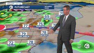 Storm chances through Saturday