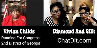 EP 50 | Diamond and Silk talked to Vivian Childs about her Congress run