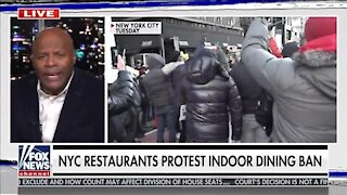 Restaurant Owners Protest Cuomo's Dining Shutdown Order