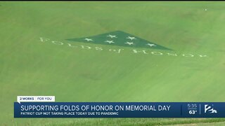 Folds of Honor supporting military families on Memorial Day
