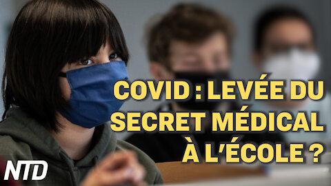 France: levée du secret médical à l'école? Covid, climat, Pologne: les 27 se sont réunis à Bruxelles
