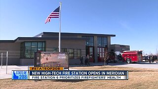 Meridian Fire Station 6 opening