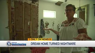 Union electricians help veteran's family fix home destroyed by disgraced contractor