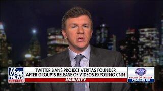 James O'Keefe: I'm Suing Twitter For Defamation
