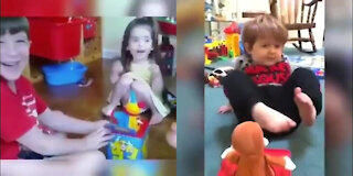 Funny Baby acting like Humans Compilation.