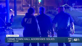 Crime town hall addresses issues